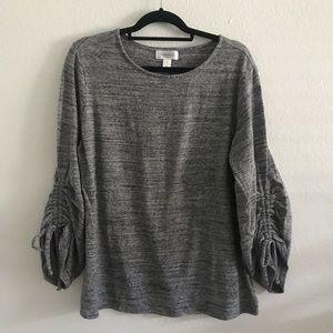 Motherhood Maternity gray sweater large